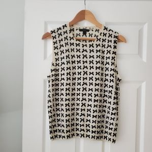 J. Crew Sweater with Ribbon Detail